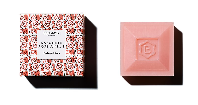 Rose Amelie Soap Benamor